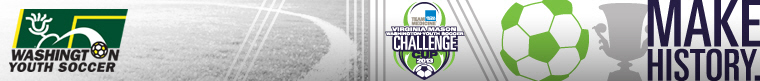 2013 Virginia Mason WA Youth Soccer Challenge Cup banner